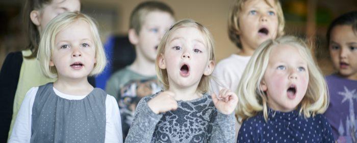 100 sangbørnehaver over hele landet er nyt projekt fra Sangens Hus