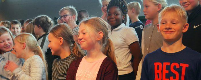 Thisted-børns møde med 'rigtige' kunstnere