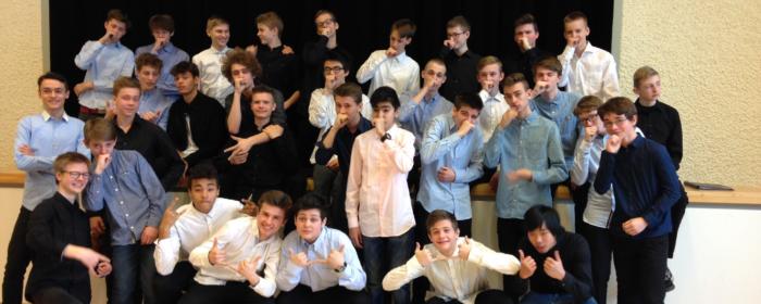 Korstævne for unge mandssangere booster drengenes lyst til at synge