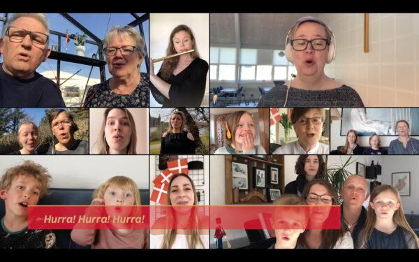 TV2 Danmark synger for Dronningen